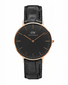 Urmăriți Daniel Wellington DW00100141 Black Reading 36