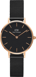 Часы Daniel Wellington DW00100245 Petite Ashfield RG Black RG 28 - 0